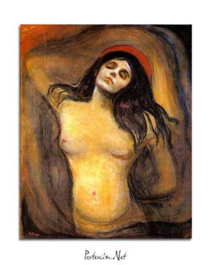 Edvard Munch - Meryem posteri