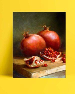 Natürmort - Narlar afişi