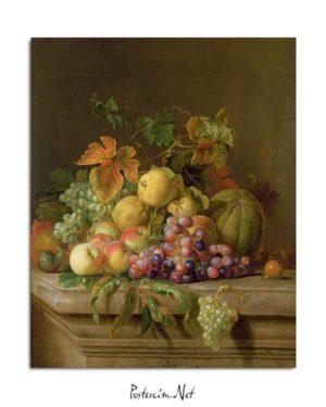 Natürmort - Soft Meyveler posteri