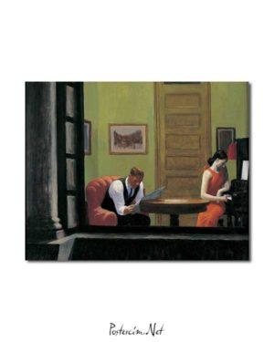 Edward Hopper - New York'ta Oda posteri