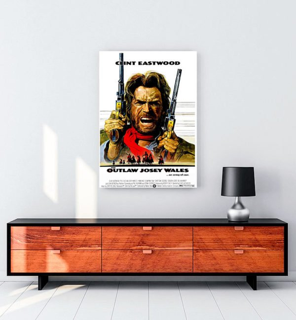 The Outlaw Josey Wales kanvas tablo