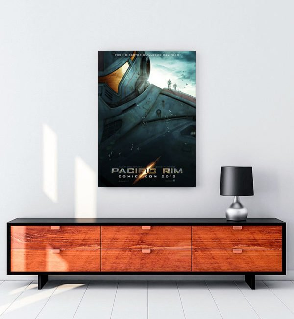 Pacific Rim poster kanvas tablo