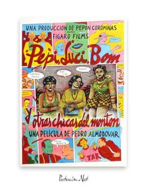 Pepi, Luci, Bom y Otras Chicas Del Montón afiş