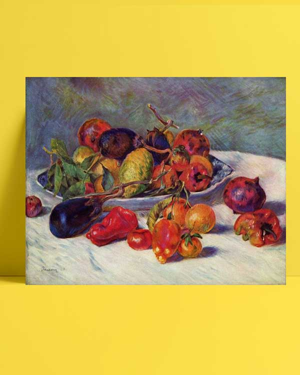 Pierre Auguste Renoir - Güneyin Meyveleri afişi