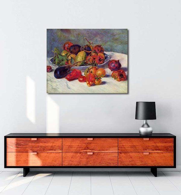 Pierre Auguste Renoir - Güneyin Meyveleri kanvas tablo