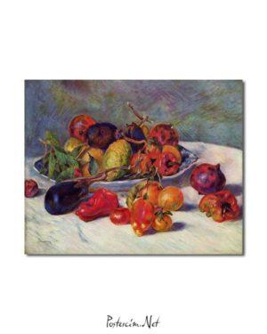 Pierre Auguste Renoir - Güneyin Meyveleri posteri