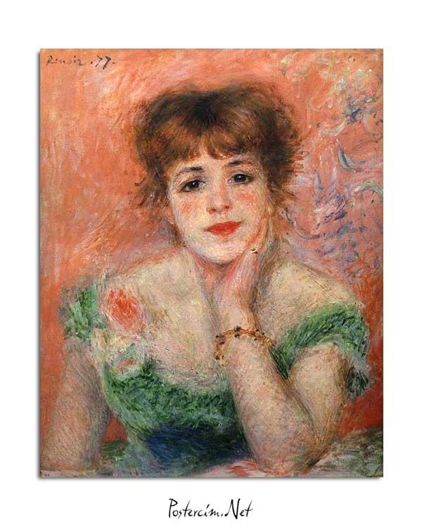 Pierre Auguste Renoir - Jeanne Samary posteri