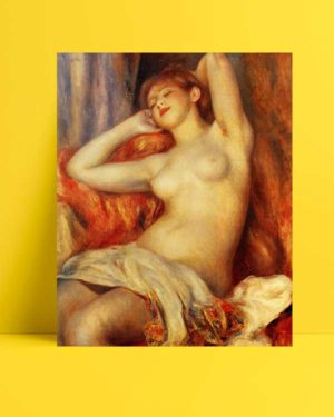 Pierre Auguste Renoir - Uyuyan Kadın afişi