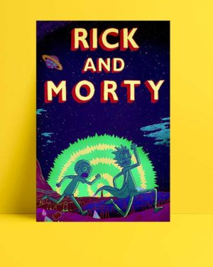Rick and Morty afişi