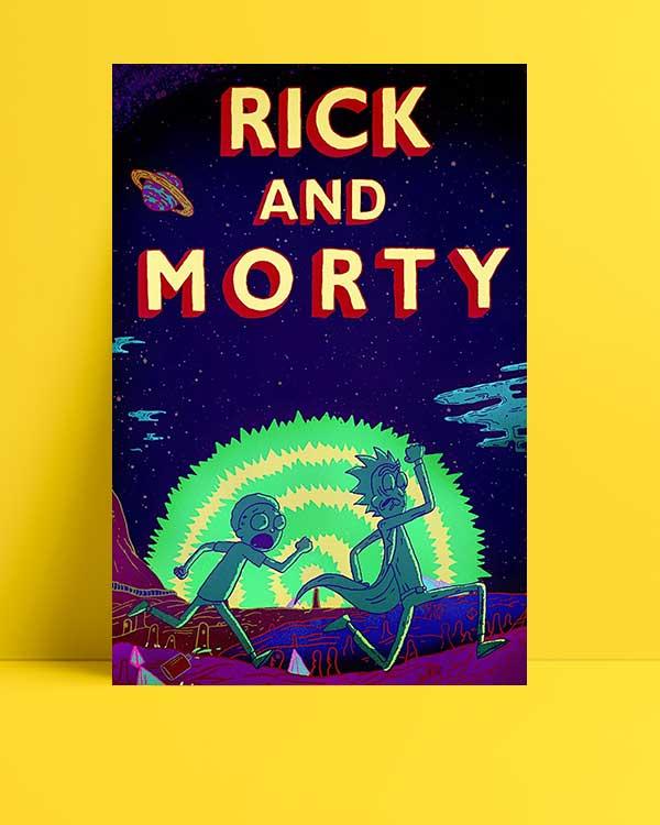 Rick and Morty afişi
