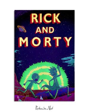 Rick and Morty posteri