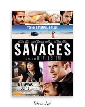Savages afiş