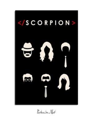 Scorpion posteri