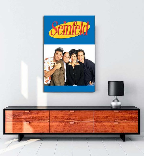 Seinfeld kanvas tablo
