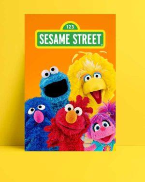 Sesame Street afişi