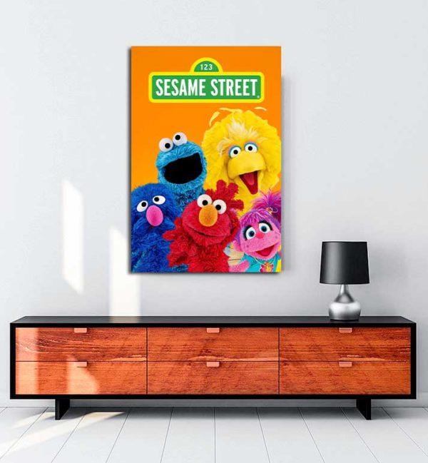 Sesame Street kanvas tablo
