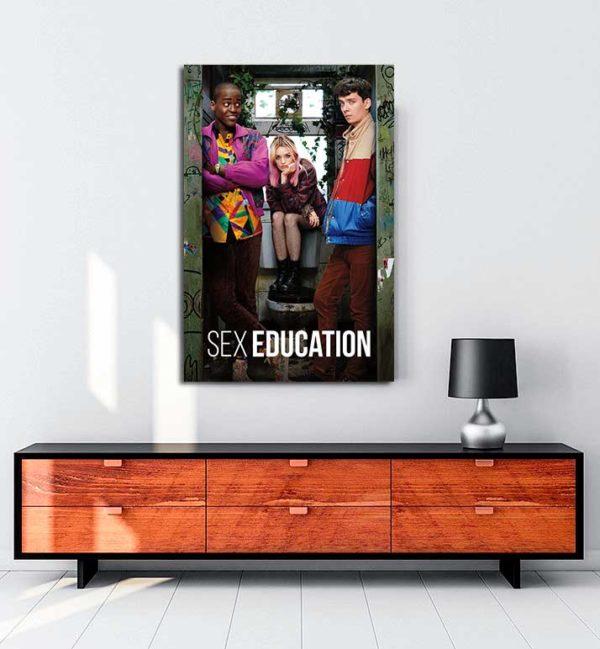 Sex Education kanvas tablo
