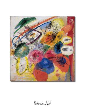 Vasiliy Kandinsky - Siyah Çizgiler afişi