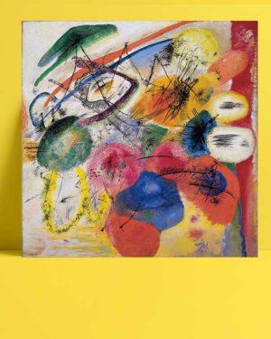 Vasiliy Kandinsky - Siyah Çizgiler posteri