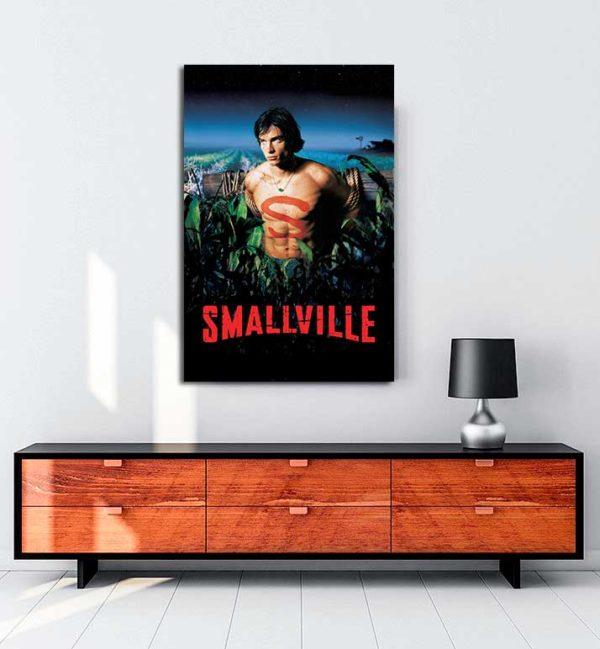 Smallville kanvas tablo