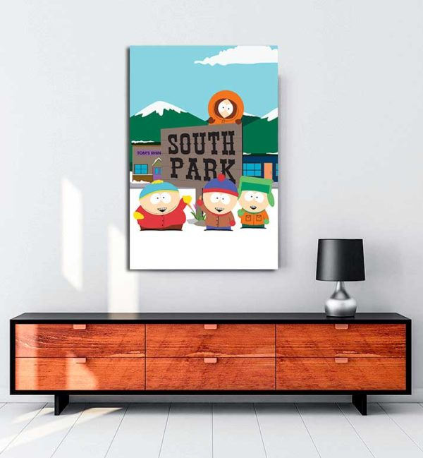 South Park kanvas tablo