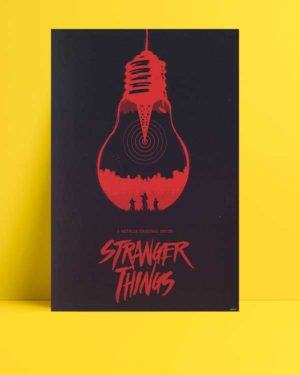 Stranger Things afişi