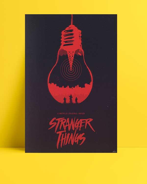 Stranger Things afişi