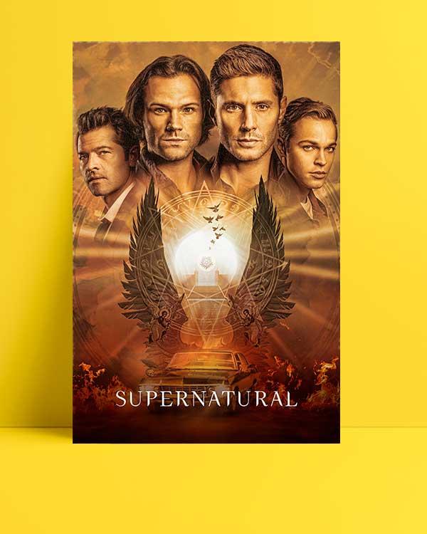 Supernatural afişi