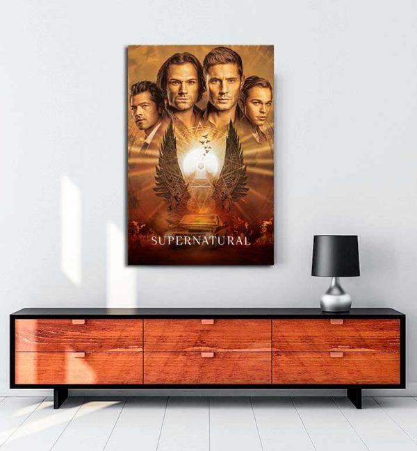Supernatural kanvas tablo