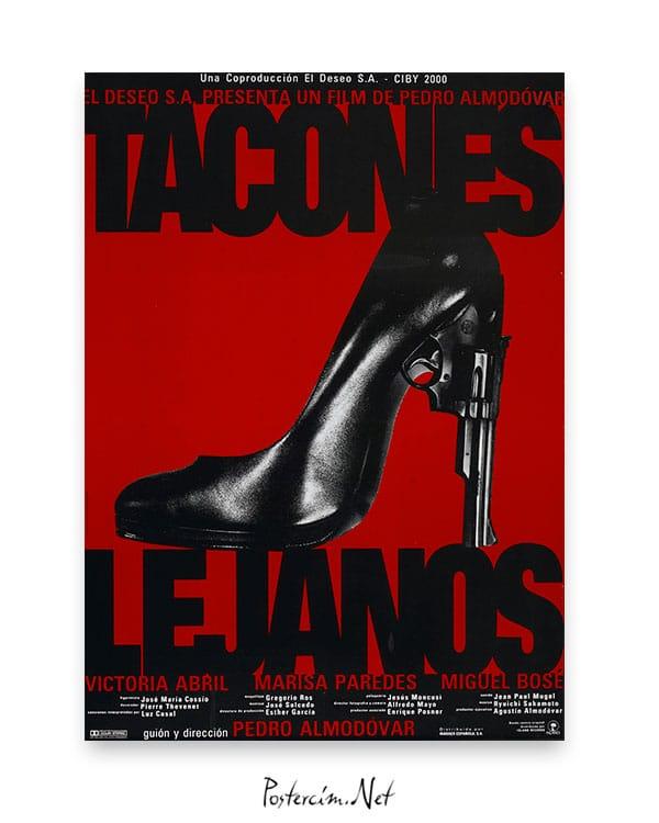 Tacones Lejanos afiş