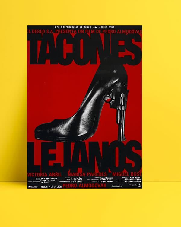 Tacones Lejanos poster