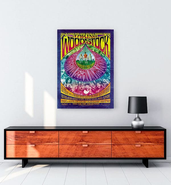 Taking Woodstock kanvas tablo