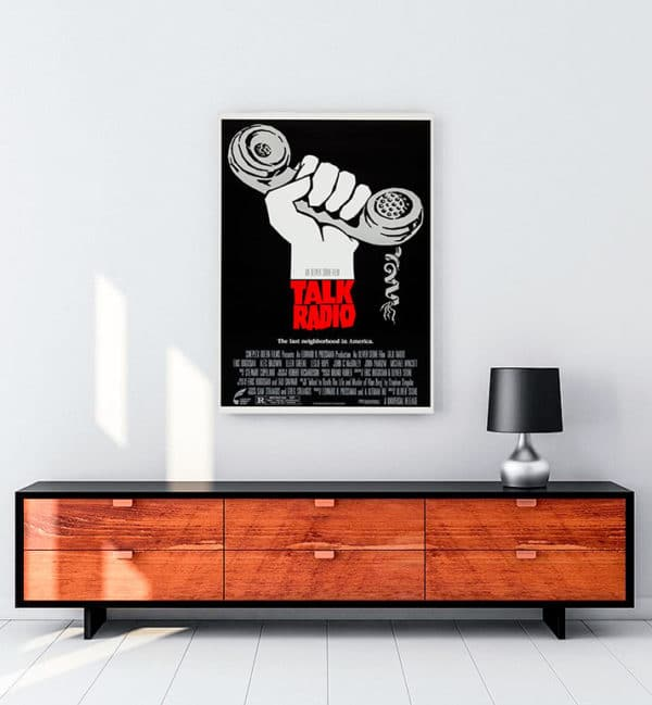 Talk Radio kanvas tablo