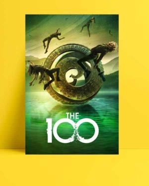 The 100 afişi