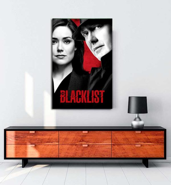 The Blacklist - 2 kanvas tablo