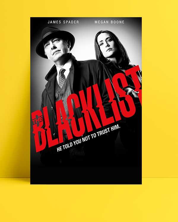 The Blacklist afişi