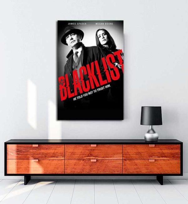 The Blacklist kanvas tablo