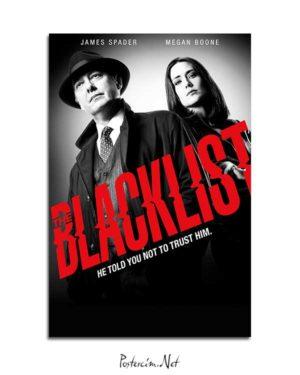 The Blacklist posteri