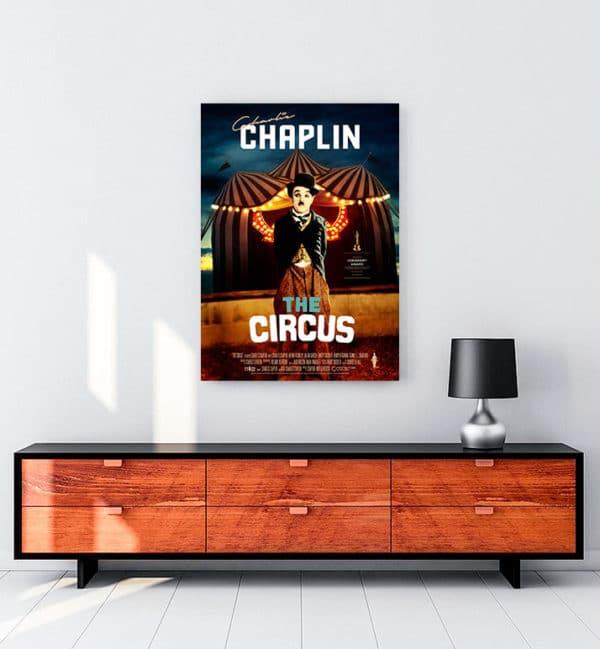 The Circus kanvas tablo