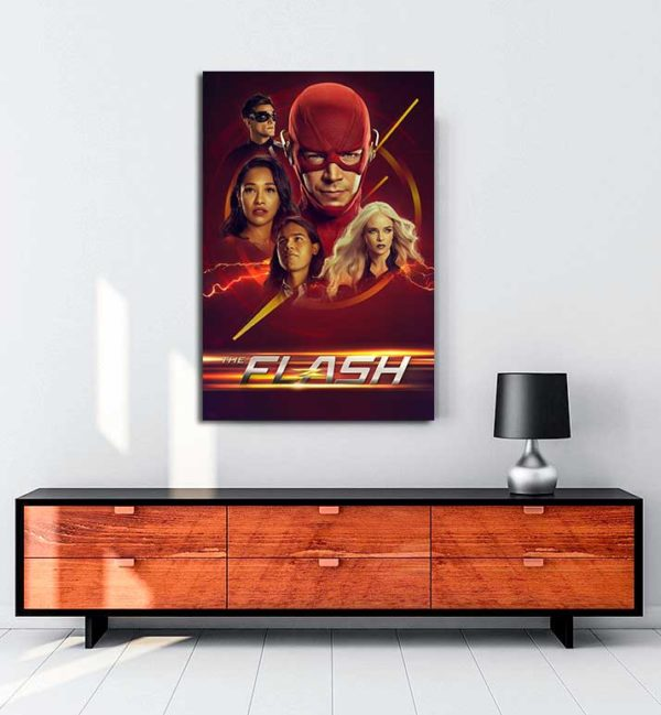 The Flash kanvas tablo