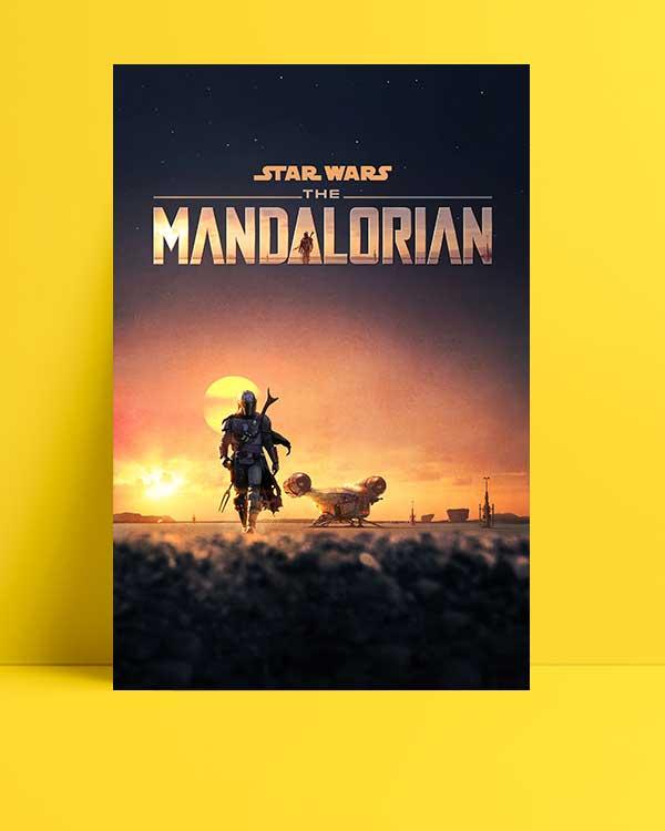 The Mandalorian afişi
