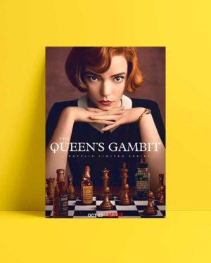 the queen's gambit afiş satın al