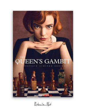 the queen's gambit poster satın al