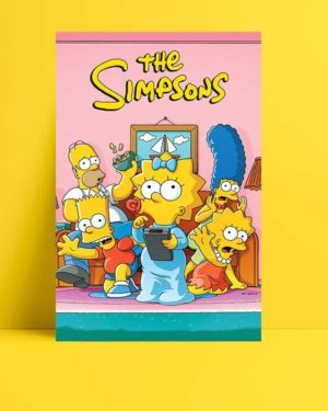 The Simpsons afişi