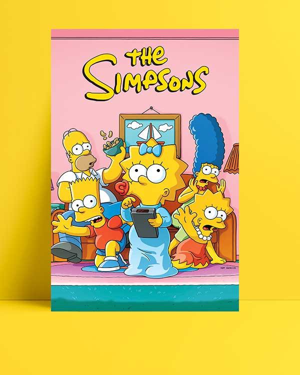 The Simpsons afişi