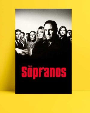 The Sopranos afişi