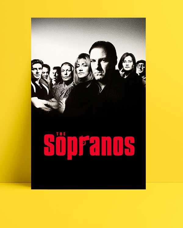 The Sopranos afişi