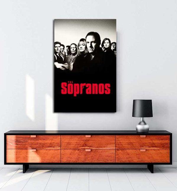 The Sopranos kanvas tablo