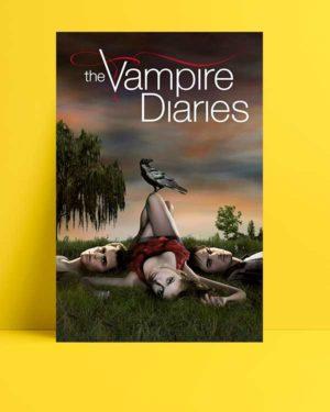 The Vampire Diaries afişi