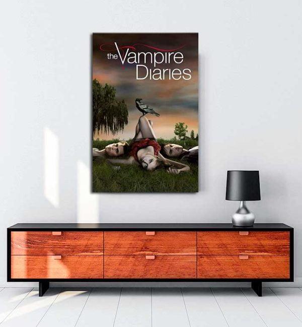 The Vampire Diaries kanvas tablo